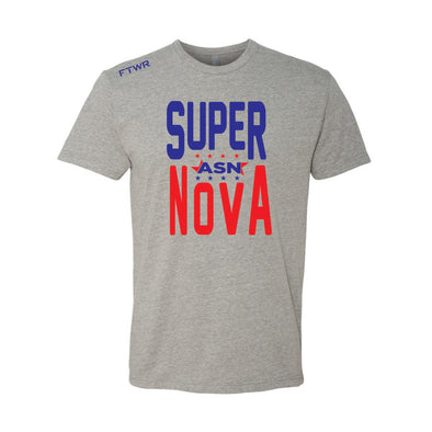 Abraham Super Nova Grey Tee