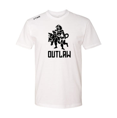 Sidney Outlaw White Tee