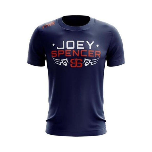 Joey Spencer Fight Navy FTWR® Tee