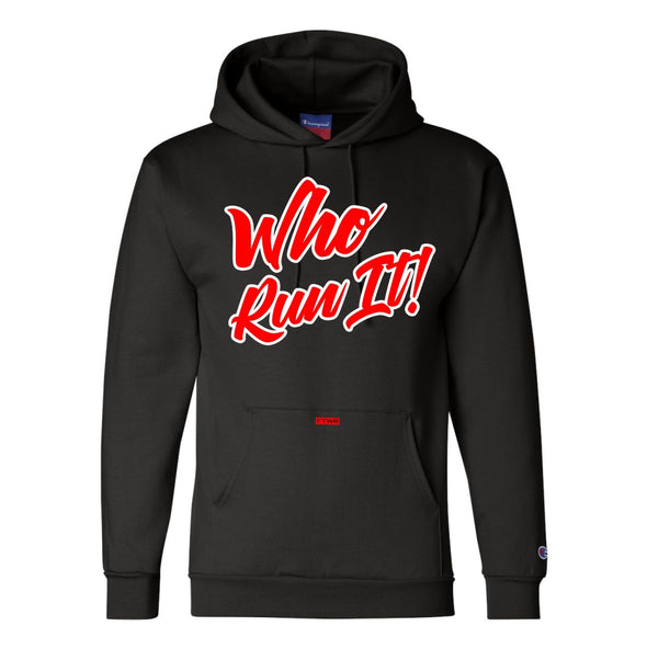 Gabriel Flores Jr Champion® Who Run It Hoodie