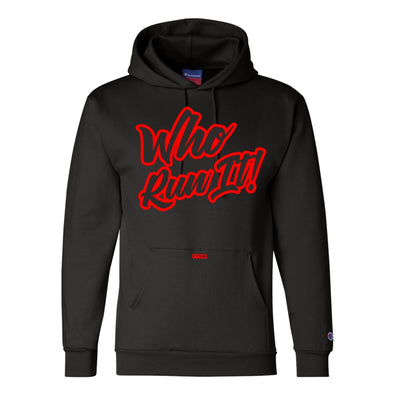 Gabriel Flores Jr Champion® Red/Black Hoodie