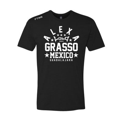 Alexa Grasso Chrome White/Black Tee