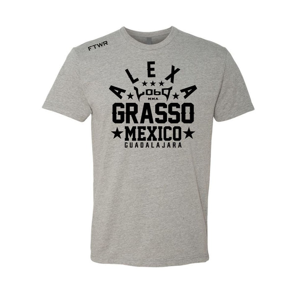 Alexa Grasso Grey/Chrome Black Tee