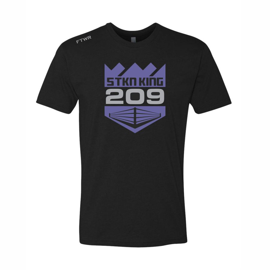 Gabriel Flores Jr Black/Purple Chrome 209 Tee