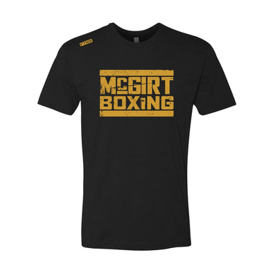 Buddy Mcgirt Boxing FTWR® Black/Gold  Tee