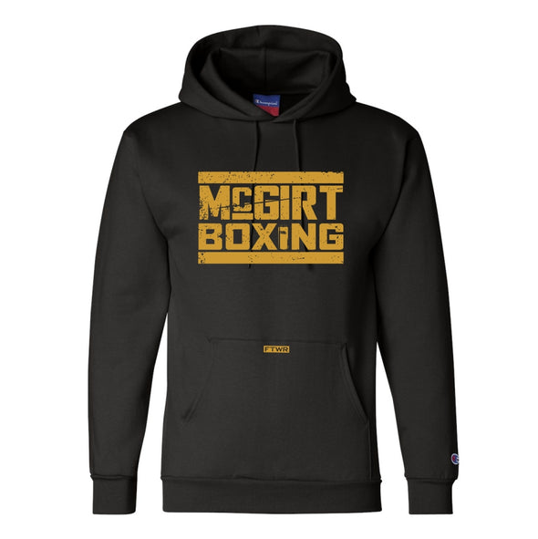 Buddy Mcgirt Black/Gold Champion® Hoodie