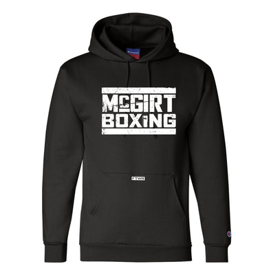 Buddy Mcgirt Black/White Champion® Hoodie