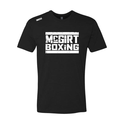 Buddy Mcgirt Boxing FTWR® Black/White  Tee