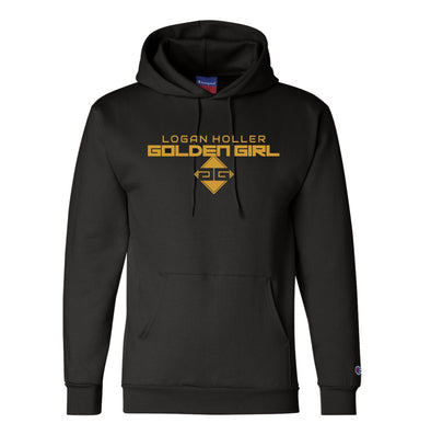 Logan Holler Original Champion® Black Hoodie