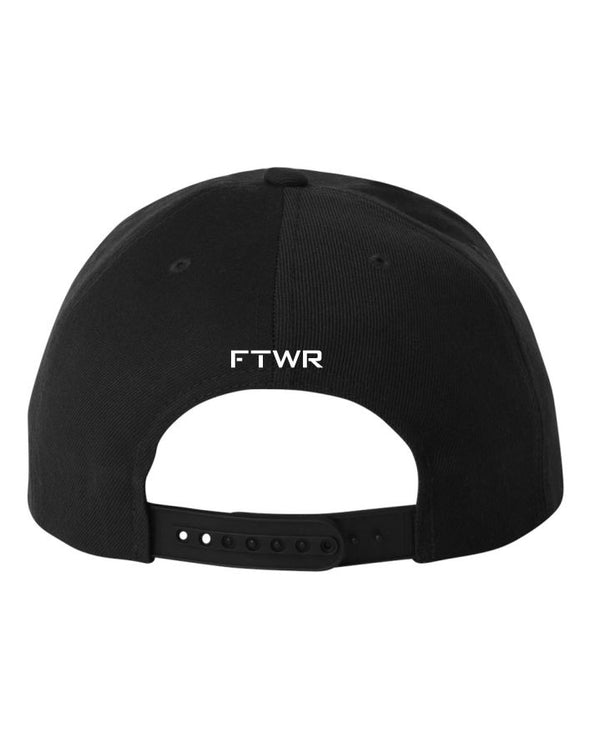 FTWR® Fight Life Black Snapback Cap