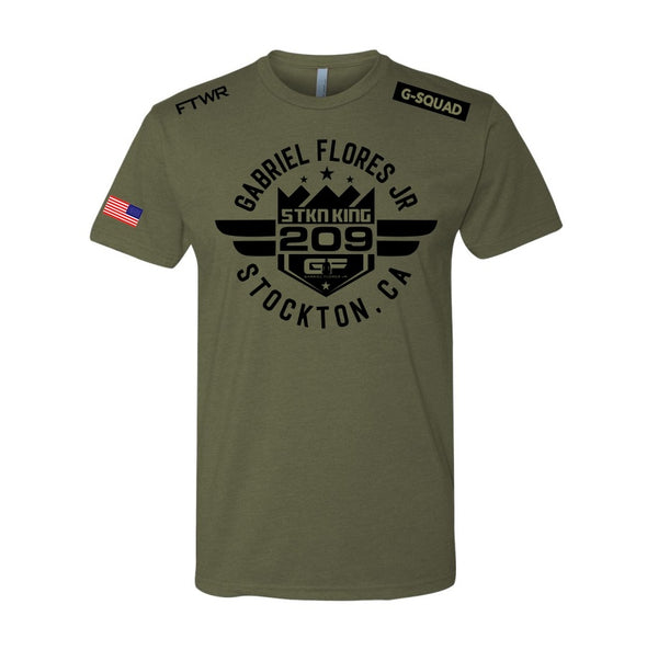 Gabriel Flores Jr. November 9th Official Fight Tee