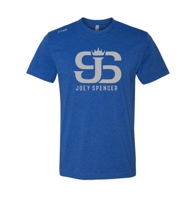Joey Spencer Fight #10 Blue Tee