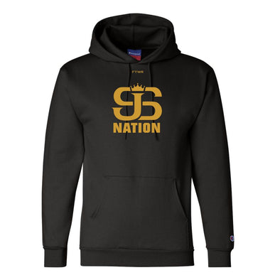 Joey Spencer JS Nation Champion® Collection Original Black/Gold Hoodie