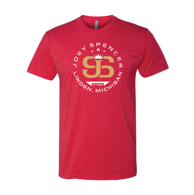 Joey Spencer Fight #7 Red Tee