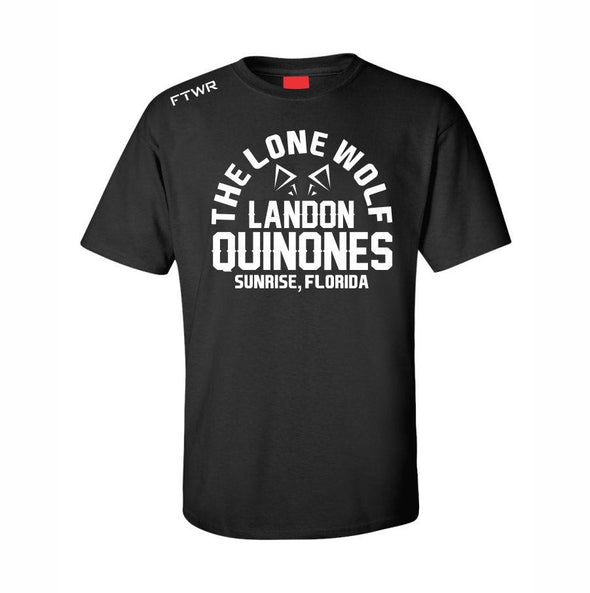 Landon Quinones Black Fight Tee