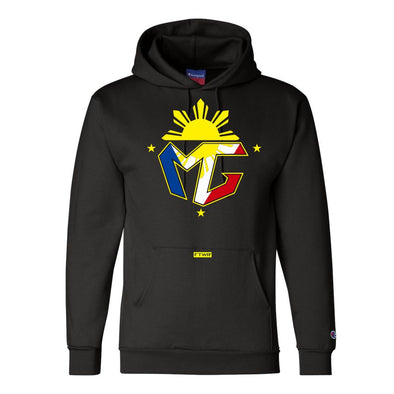 El Mercito Gesta Original Champion® Black Hoodie