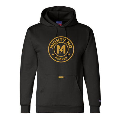"Maurice ""Mighty Mo"" Hooker Champion® Black Hoodie"