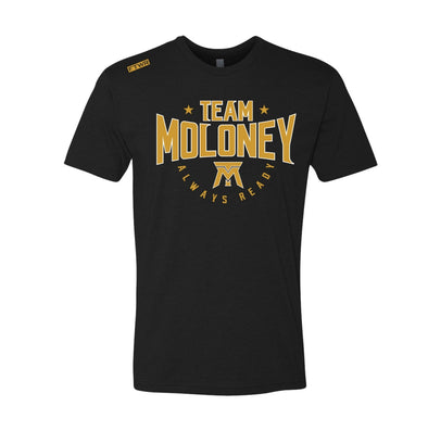 Team Moloney FTWR® Black Tee