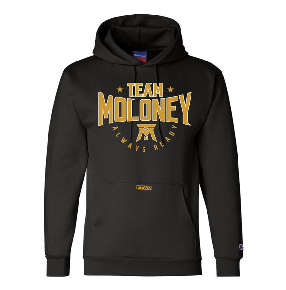 Team Moloney Black Champion® Hoodie