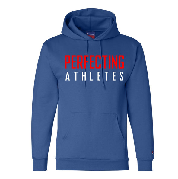 Perfecting Athletes Champion® Blue Hoodie