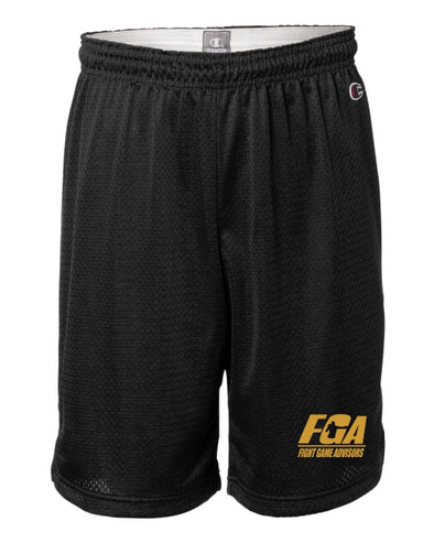 Fight Game Advisors Champion® Collection Black Training Shorts