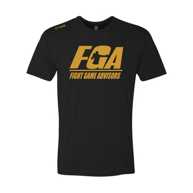 Fight Game Advisors Black Tee