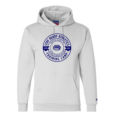 Stay Ready Original Champion® White Hoodie