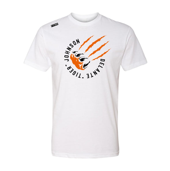 "Delante ""Tiger"" Johnson FTWR® White Tee"