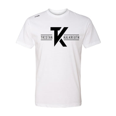 Tristan Kalkreuth White/Black Tee