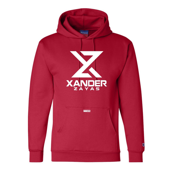 Xander Zayas Original Champion® Red Hoodie