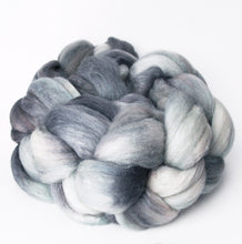 "semi-solid hand-dyed spinning fiber, 4 oz, ""Pacific"""