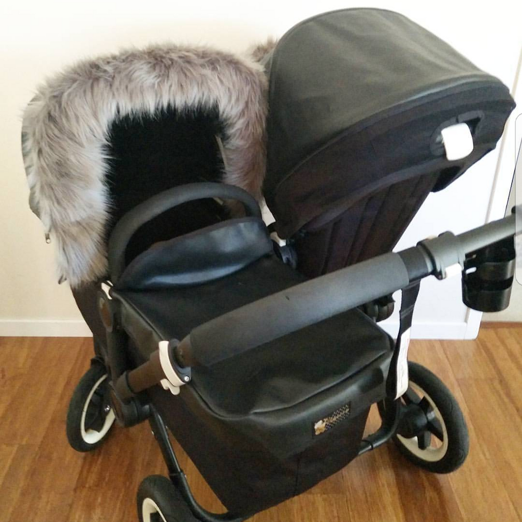 Leather Look Pram Hood & Liner Sets