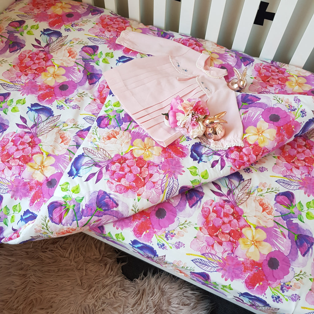 Cot Quilts & Cot Quilt Covers