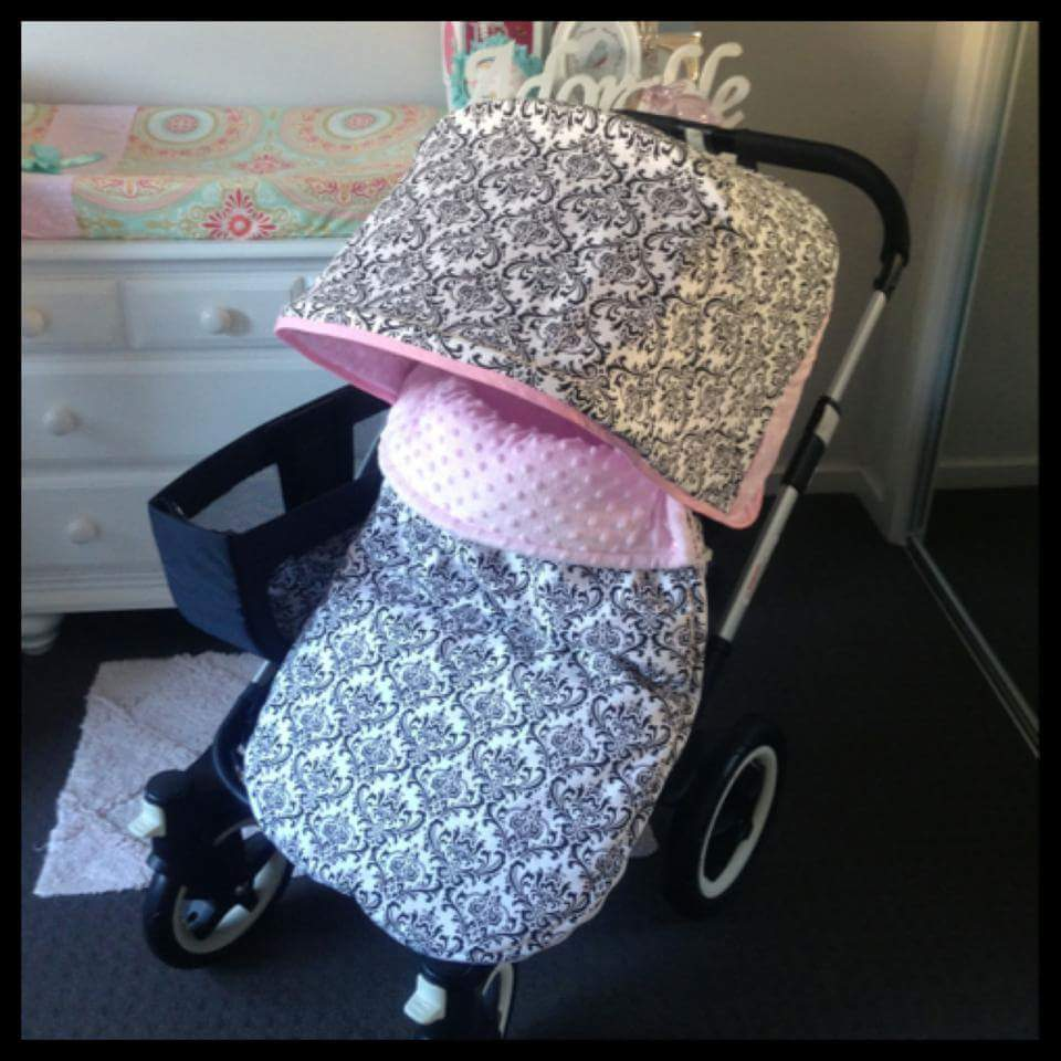 "Pram Liner CHOOSE YOUR OWN FABRIC ""Florals"""