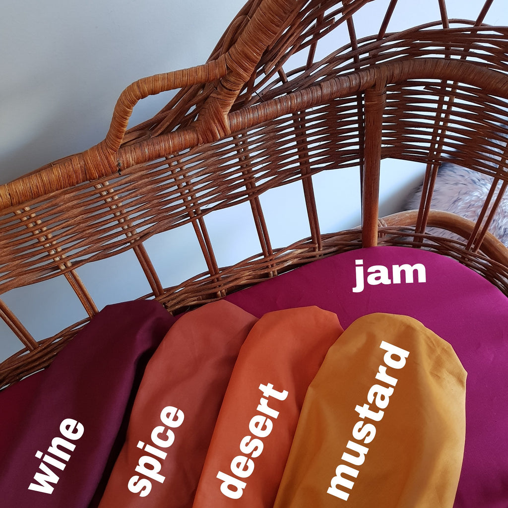 Pram Liner SOLID COLOUR COLLECTION