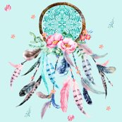 Designer Collection WHITE DREAMCATCHER