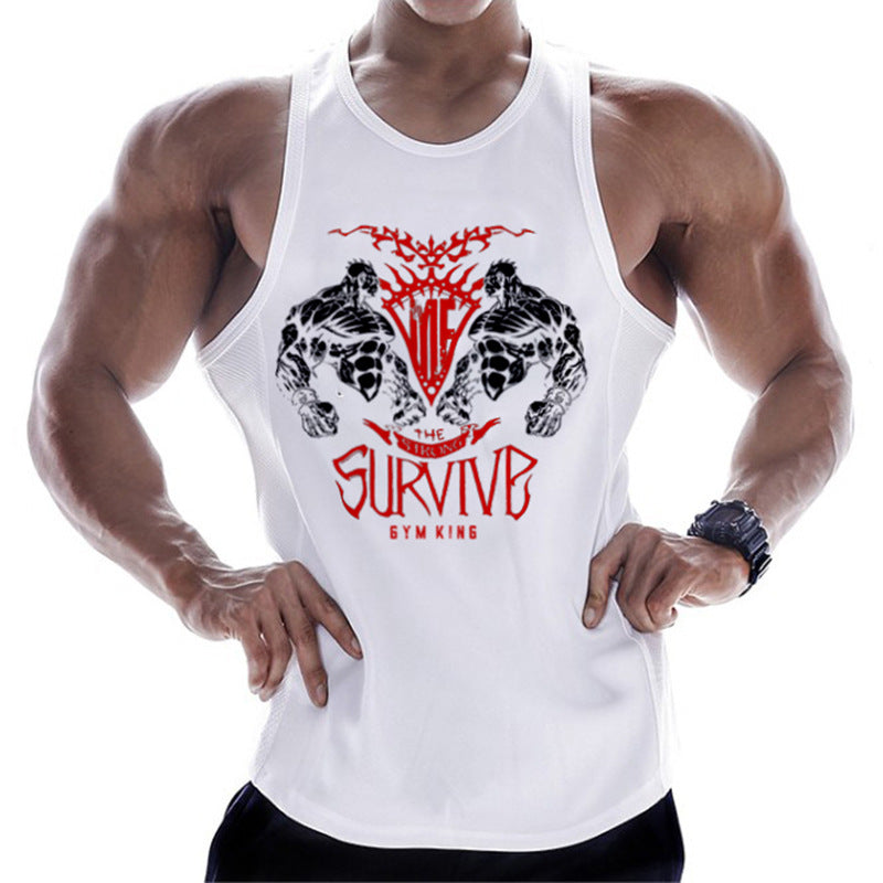 Battle Sleeveless Hoodie Sport Gym Top Running Vest Men Fitness Bodybuilding