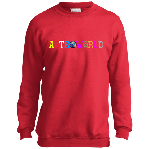 Astroworld Sweater Wish You Were Here Youth Crewneck Sweatshirt
