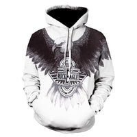 American Eagle Hoodies Flag Eagle Street Hoodie 2020 Casual Tops P010