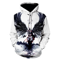 American Eagle Hoodies Flag Eagle Street Hoodie 2020 Casual Tops P013