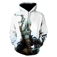 Assassins Creed Hoodie 3D Characters Mens Clothing Long Sleeve Hip Hop Hoodie - Tina Store