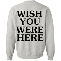 Astroworld Sweater Wish You Were Here Crewneck Pullover Sweatshirt 8 oz - Tina Store