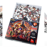 Avengers Puzzle Disney Marvel 500 pieces of Paper Adult Intelligence With Original Box - Tina Store