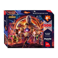 Avengers Puzzle Disney Marvel 500 pieces of Paper Adult Intelligence With Original Box