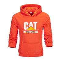 Caterpillar Hoodie High Quality Brand Letter Printing Fashion For Mens N628 - Tina Store