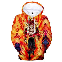 Dragon Ball Z 3D Printed Hoodies Mens Hoodie Long Sleeve Casual Boys and Kids A102