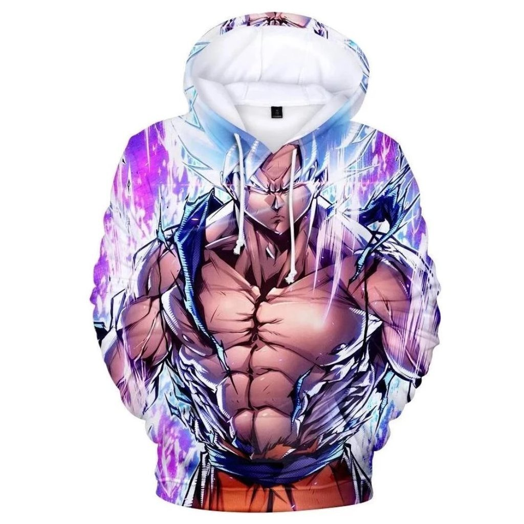 Dragon Ball Z 3D Printed Hoodies Mens Hoodie Long Sleeve Casual Boys and Kids A103 - Tina Store