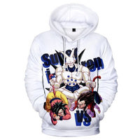 Dragon Ball Z 3D Printed Hoodies Mens Hoodie Long Sleeve Casual Boys and Kids A105