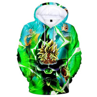 Dragon Ball Z 3D Printed Hoodies Mens Hoodie Long Sleeve Casual Boys and Kids A106