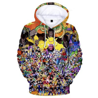 Dragon Ball Z 3D Printed Hoodies Mens Hoodie Long Sleeve Casual Boys and Kids A107